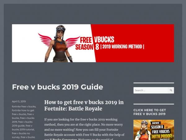 Free V Bucks Guide Get Free V Bucks No Human Verification Or