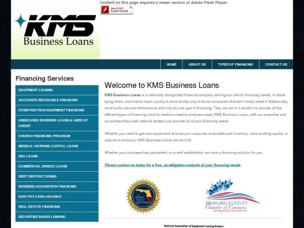 kmsbusinessloans.com